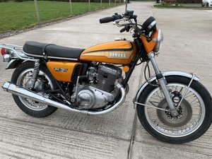 Picture of 1973 Yamaha TX750 For Sale