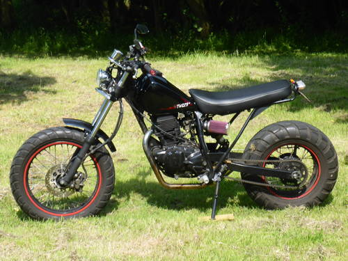2006 Rare Yamaha TW225 Custom, low Mileage. SOLD (picture 1 of 6)