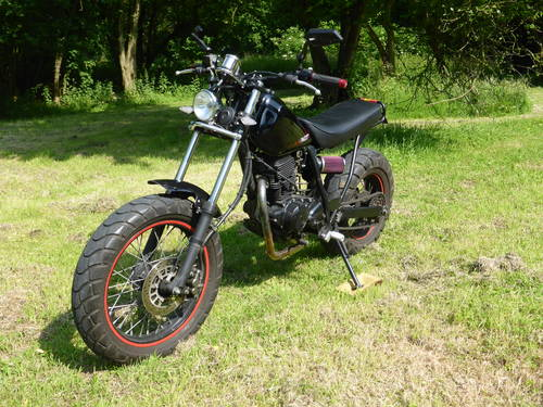 2006 Rare Yamaha TW225 Custom, low Mileage. SOLD (picture 4 of 6)