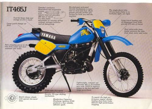 1981 Yamaha IT 465 / 250 / 490 / 425  Spares  WANTED  Wanted (picture 1 of 2)