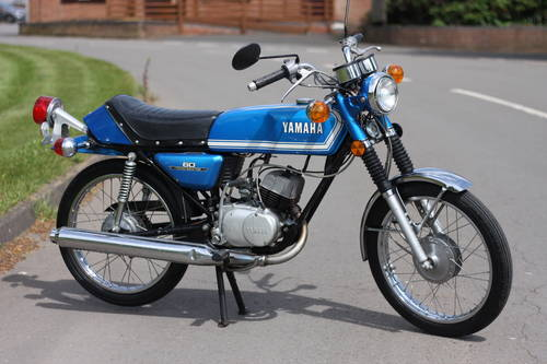Yamaha RD60 RD 60 1973 just 3,193 miles 100% standard & unto SOLD (picture 1 of 6)