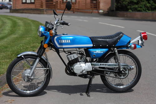 Yamaha RD60 RD 60 1973 just 3,193 miles 100% standard & unto SOLD (picture 6 of 6)
