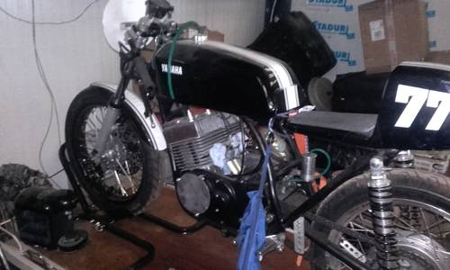 1977 Classic Yamaha RD400 2 stroke racing machine For Sale (picture 6 of 6)