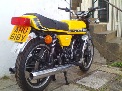 1980 YAMAHA RD250 F SOLD (picture 2 of 5)