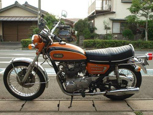 YAMAHA XS650E (1971) 650cc from JAPAN For Sale (picture 1 of 4)