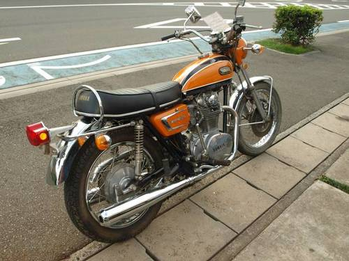 YAMAHA XS650E (1971) 650cc from JAPAN For Sale (picture 2 of 4)