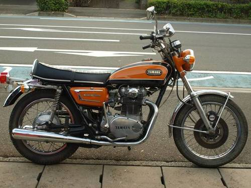 YAMAHA XS650E (1971) 650cc from JAPAN For Sale (picture 3 of 4)