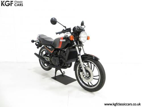 A New and Unregistered UK 1981 Yamaha RD250LC with 0.9 Miles SOLD (picture 1 of 6)