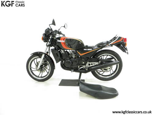 A New and Unregistered UK 1981 Yamaha RD250LC with 0.9 Miles SOLD (picture 3 of 6)