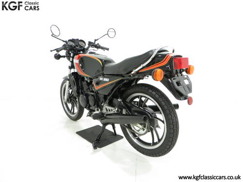 A New and Unregistered UK 1981 Yamaha RD250LC with 0.9 Miles SOLD (picture 4 of 6)