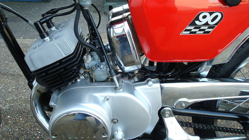 Yamaha HS-1 90cc 1970-H ***6831 MILES*** For Sale (picture 4 of 6)