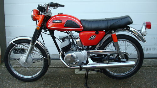 Yamaha HS-1 90cc 1970-H ***6831 MILES*** SOLD (picture 6 of 6)