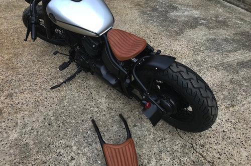 1997 AutoVero Bobber based on XVS650 - in build For Sale (picture 4 of 6)