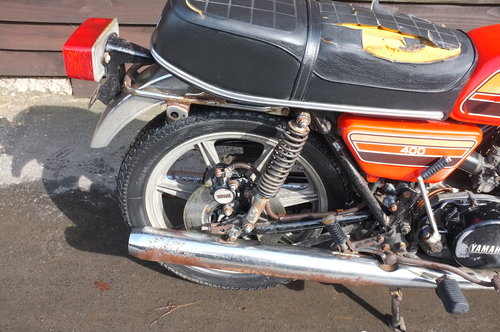 Yamaha RD 400C RD400 C 1976 BARN FIND exceptional condition  SOLD (picture 2 of 6)