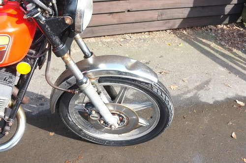 Yamaha RD 400C RD400 C 1976 BARN FIND exceptional condition  SOLD (picture 4 of 6)