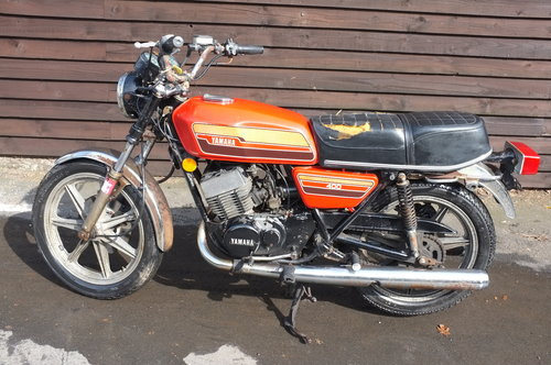 Yamaha RD 400C RD400 C 1976 BARN FIND exceptional condition  SOLD (picture 6 of 6)