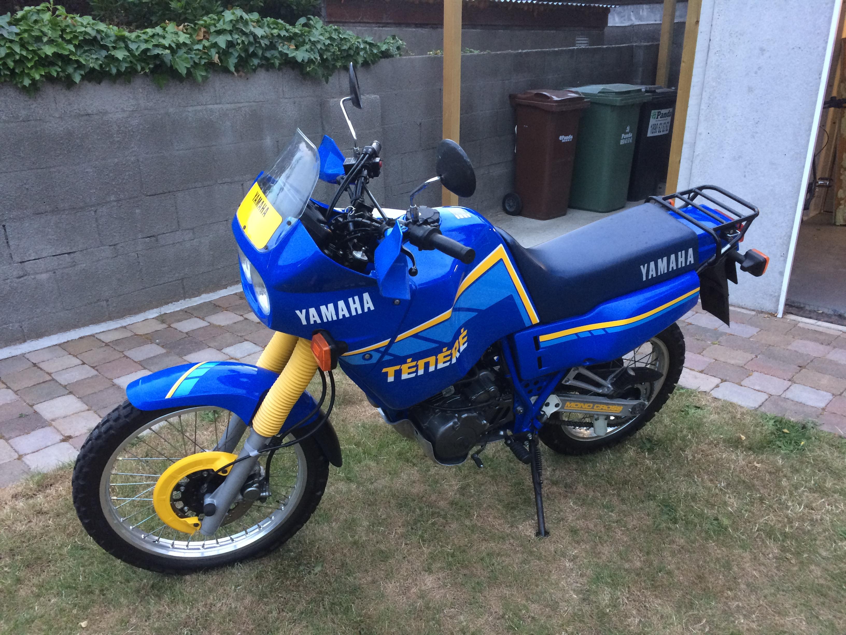 Original low km's Yamaha 3AJ Tenere