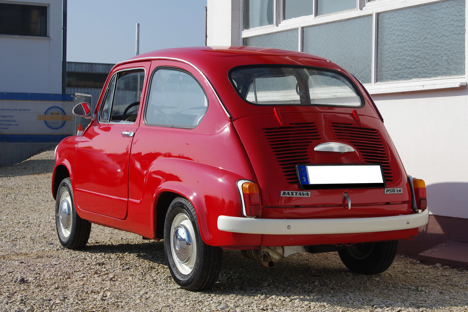 1983 Zastava 750 partially restored - German registration For Sale (picture 3 of 6)