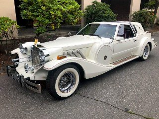 1985 Zimmer Golden Spirit Coupe clean Ivory(~)Red $24.9k For Sale