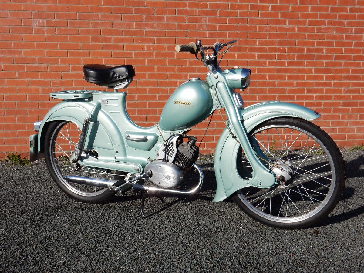 Zundapp Combinette  50cc  1958 For Sale (picture 1 of 6)