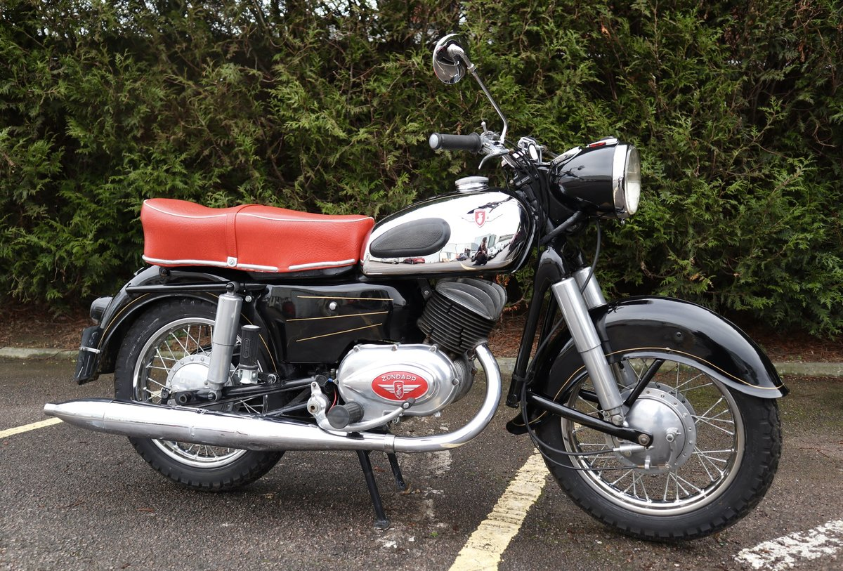 1957 Zundapp 201S 200cc Classic German Motorcycle  For Sale (picture 1 of 6)