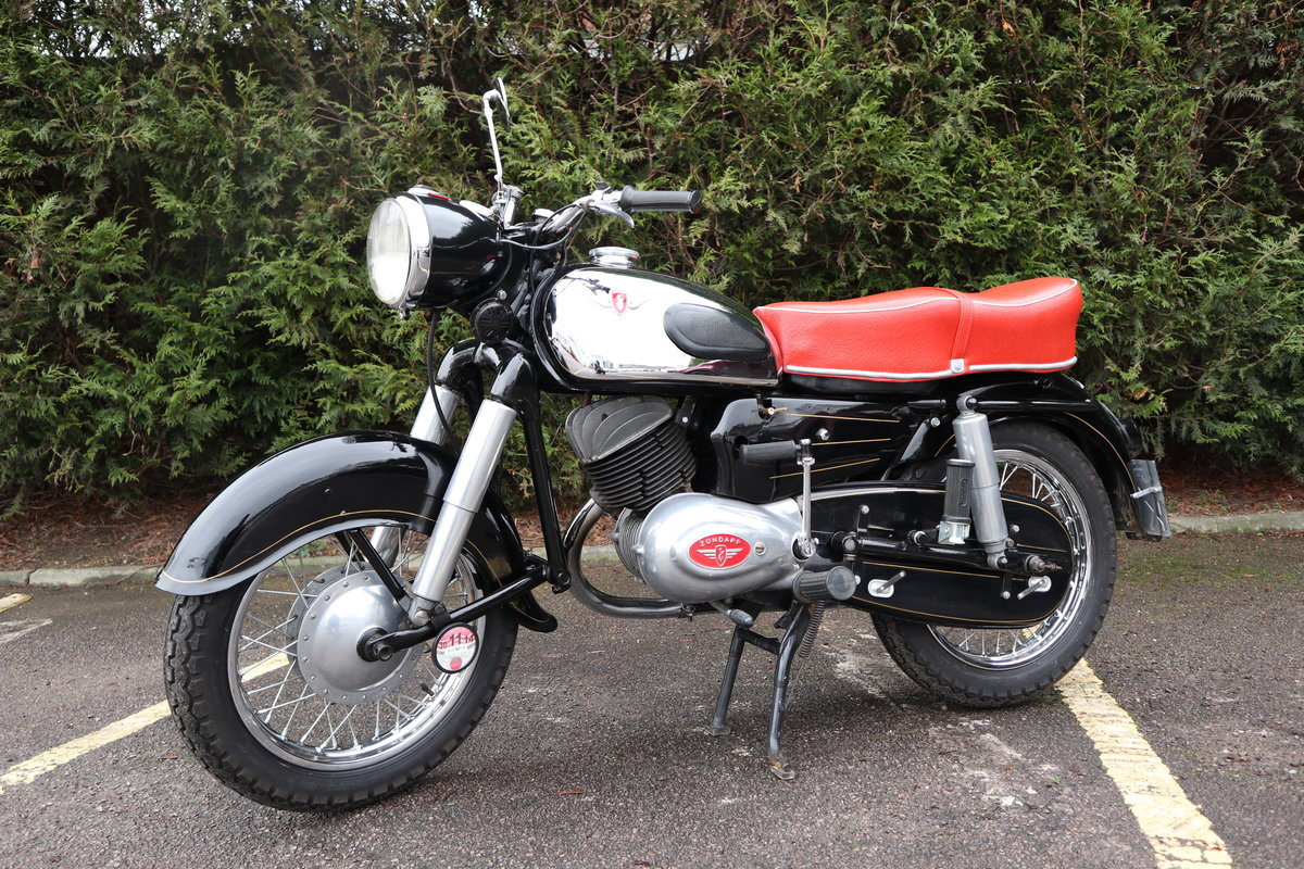 1957 Zundapp 201S 200cc Classic German Motorcycle  For Sale (picture 2 of 6)