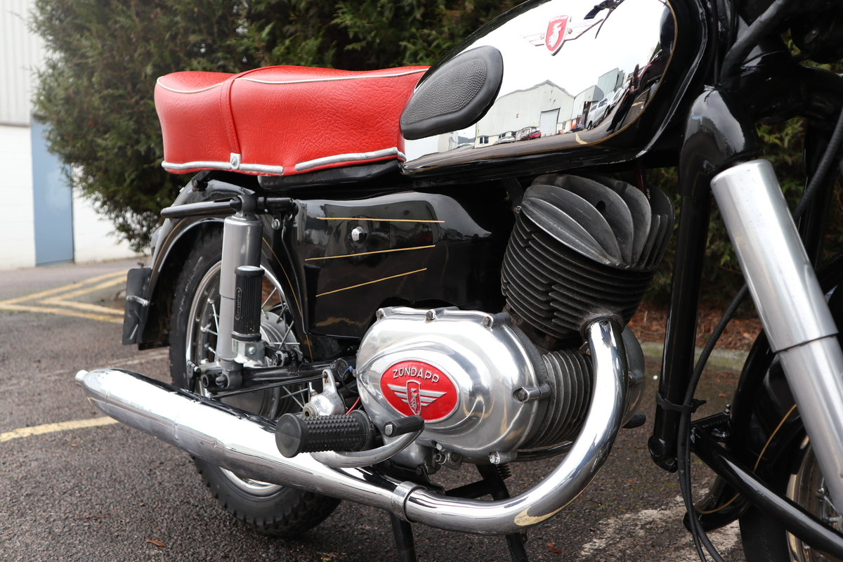 1957 Zundapp 201S 200cc Classic German Motorcycle  For Sale (picture 3 of 6)