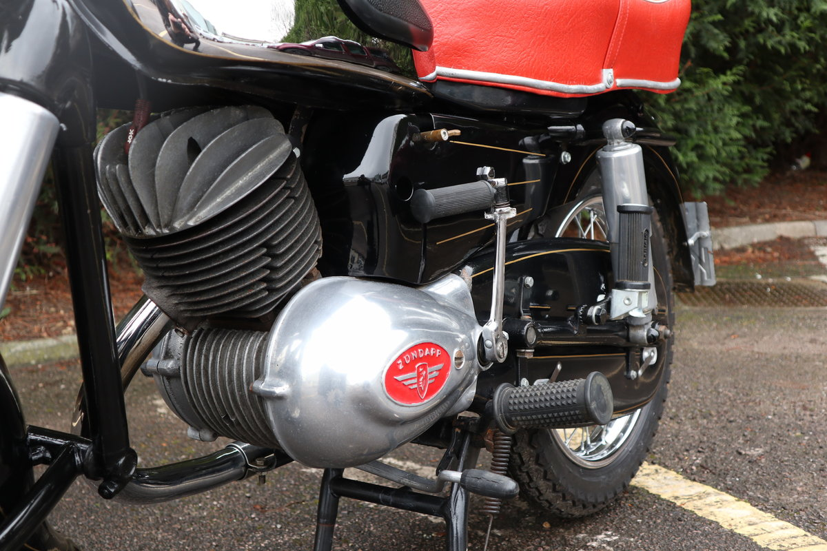 1957 Zundapp 201S 200cc Classic German Motorcycle  For Sale (picture 4 of 6)