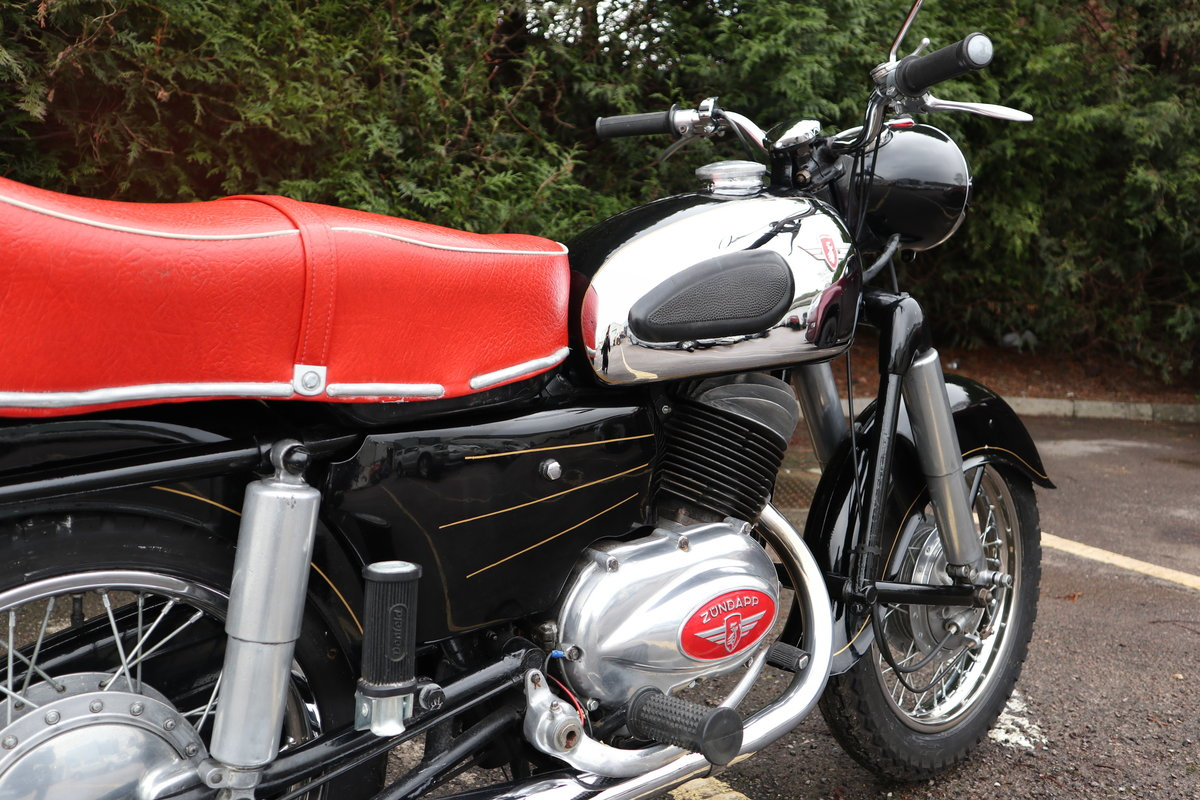 1957 Zundapp 201S 200cc Classic German Motorcycle  For Sale (picture 5 of 6)