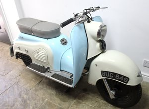 1957 Zundapp Bella R151 150 cc  Four Stroke Scooter
