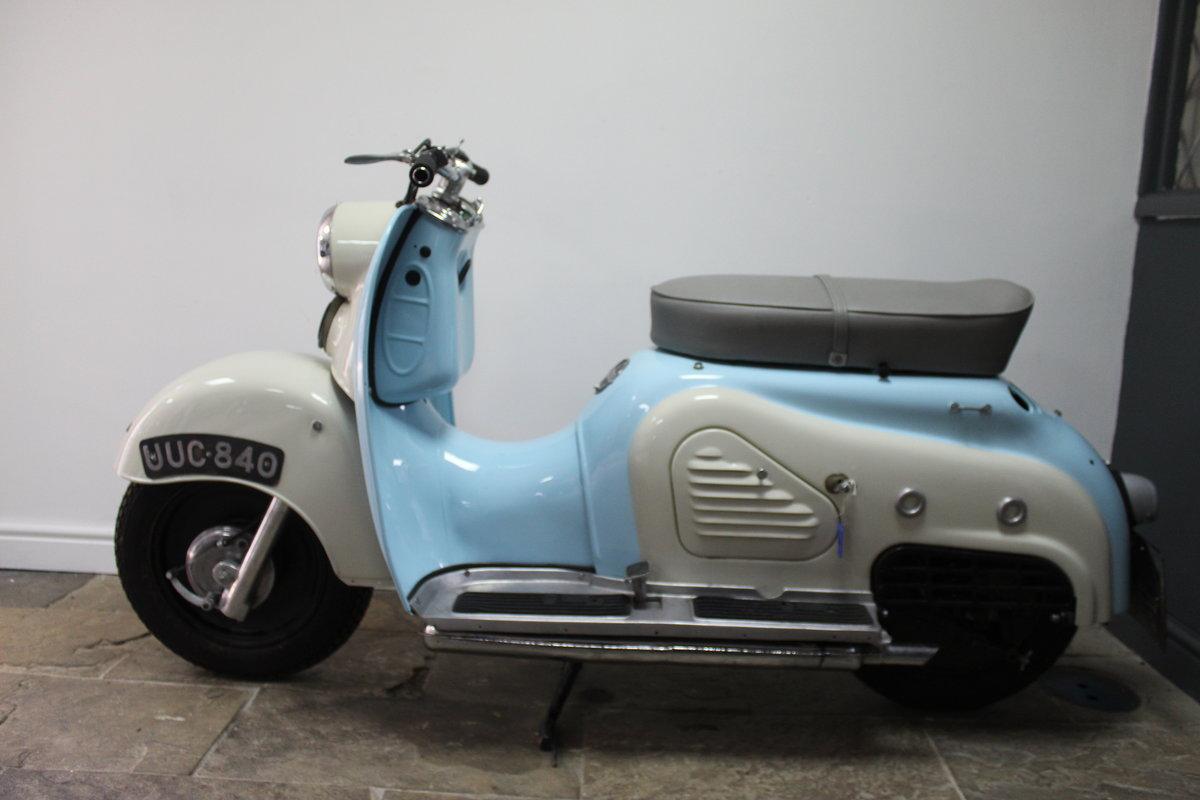 1957 Zundapp Bella R151 150 cc  Four Stroke Scooter For Sale (picture 6 of 6)