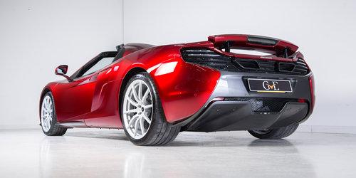 2015 Volcano Red McLaren 650S Spider - Interior Carbon Fibre For Sale (picture 3 of 6)