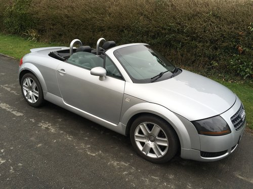 2004 Audi TT Roadster SOLD (picture 1 of 6)
