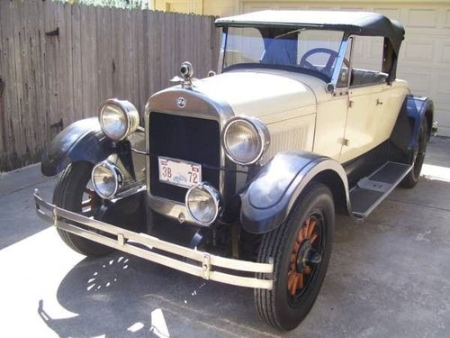 1925 REO Roadster For Sale (picture 1 of 6)