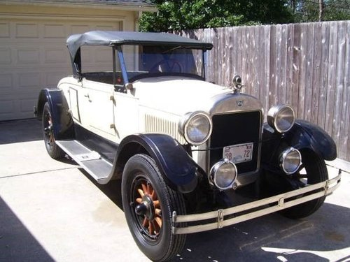 1925 REO Roadster For Sale (picture 2 of 6)