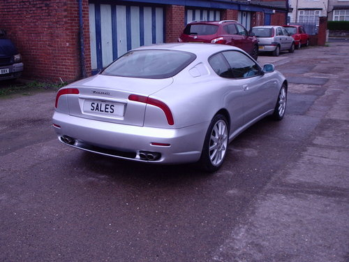 2001 Maserati 3200 GT Automatic For Sale (picture 1 of 6)