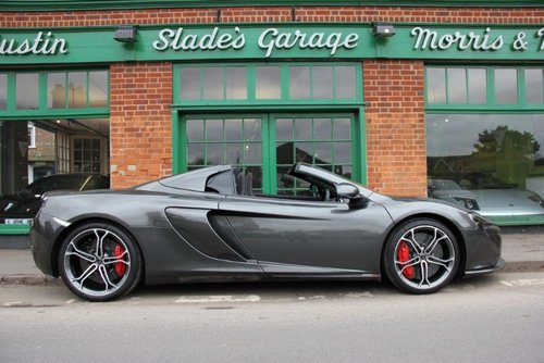 2014 McLaren 650 S Spider  For Sale (picture 1 of 4)