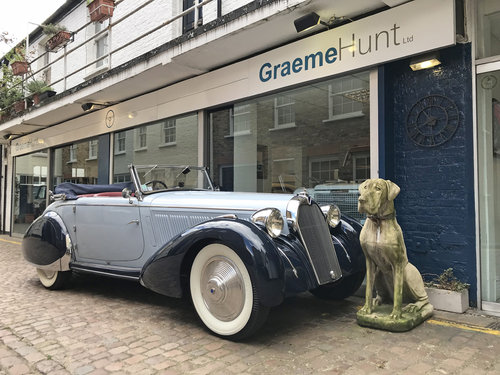 1938 Talbot Lago T23 Cabriolet by Figoni & Falaschi SOLD (picture 1 of 6)