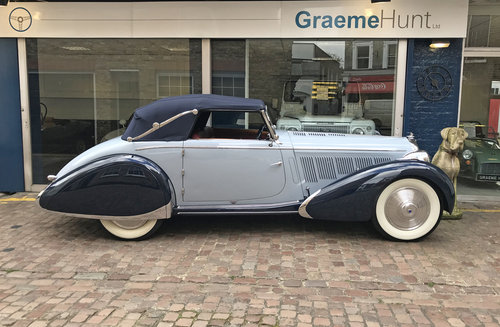 1938 Talbot Lago T23 Cabriolet by Figoni & Falaschi SOLD (picture 2 of 6)