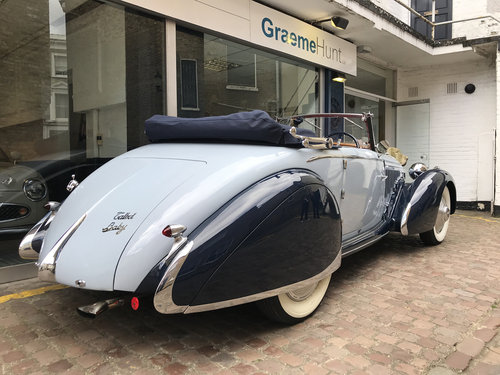 1938 Talbot Lago T23 Cabriolet by Figoni & Falaschi SOLD (picture 3 of 6)