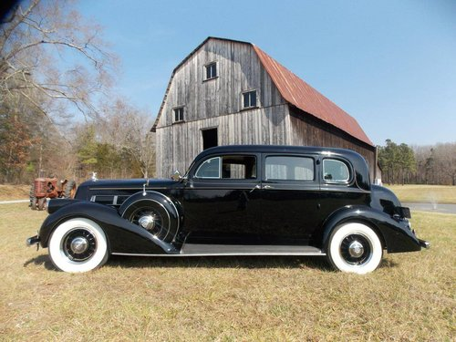 1937 Pierce-Arrow 1703 Limousine For Sale (picture 1 of 6)