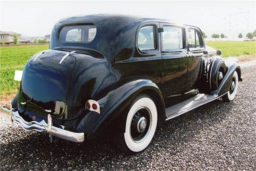 1937 Pierce-Arrow 1703 Limousine For Sale (picture 2 of 6)
