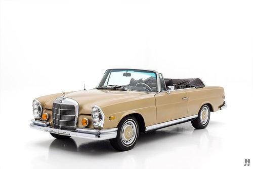1969 Mercedes-Benz 280SE Cabriolet For Sale (picture 1 of 6)