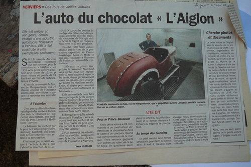 1947 L' Aiglon , No Bugatti , Delage , Messerschmitt For Sale (picture 4 of 6)