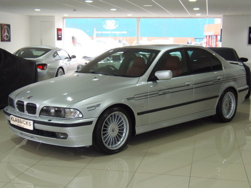 2000 W BMW ALPINA B10 4.6 V8 AUTO For Sale (picture 1 of 6)