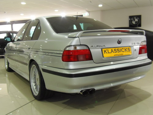2000 W BMW ALPINA B10 4.6 V8 AUTO For Sale (picture 3 of 6)
