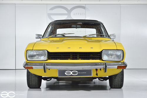 1974 Daytona Yellow Mk1 Capri GT 1600 - Ready to be enjoyed! SOLD (picture 1 of 6)