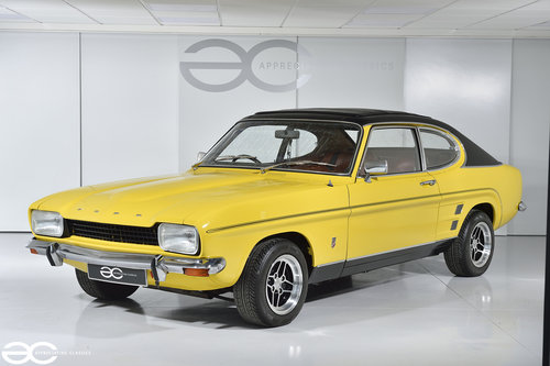 1974 Daytona Yellow Mk1 Capri GT 1600 - Ready to be enjoyed! SOLD (picture 2 of 6)