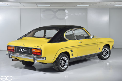 1974 Daytona Yellow Mk1 Capri GT 1600 - Ready to be enjoyed! SOLD (picture 3 of 6)