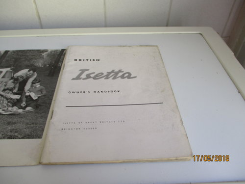 Isetta Owners Handbook For Sale (picture 2 of 3)